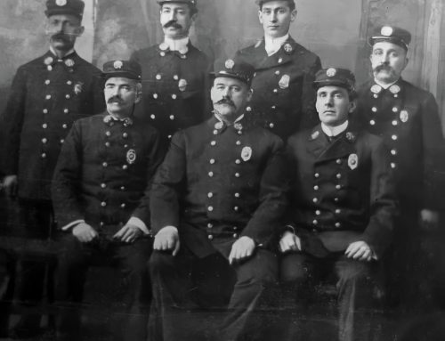 1907: Chief Harry Parker and His Officer Staff