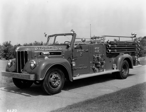 1955-09-19: SFD Receives Maxim 750 GPM Pumper.  Placed In Service as Engine #2