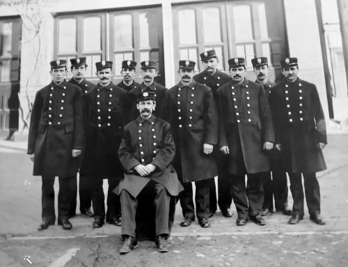 1910: Company Photo at Luther Street Fire Station