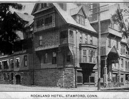 """1970-07-27: """"The Rockland Hotel"""" Suffers An Arson Fire Ending It's Nearly 100 Year History in Stamford."""