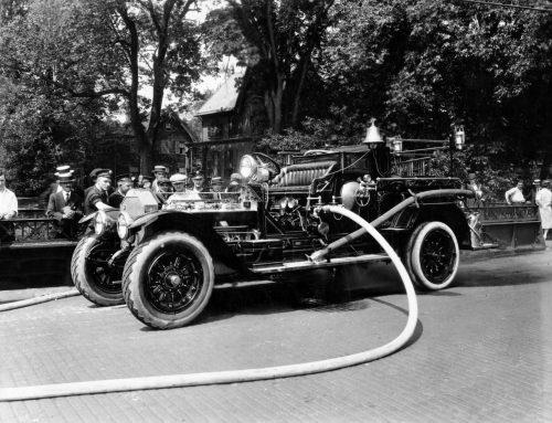 1922-06-12: Engine No 4, An American LaFrance Triple Combination Pumper
