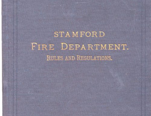 1885-06: Ordinances Pertaining to the New Borough of Stamford Fire Department